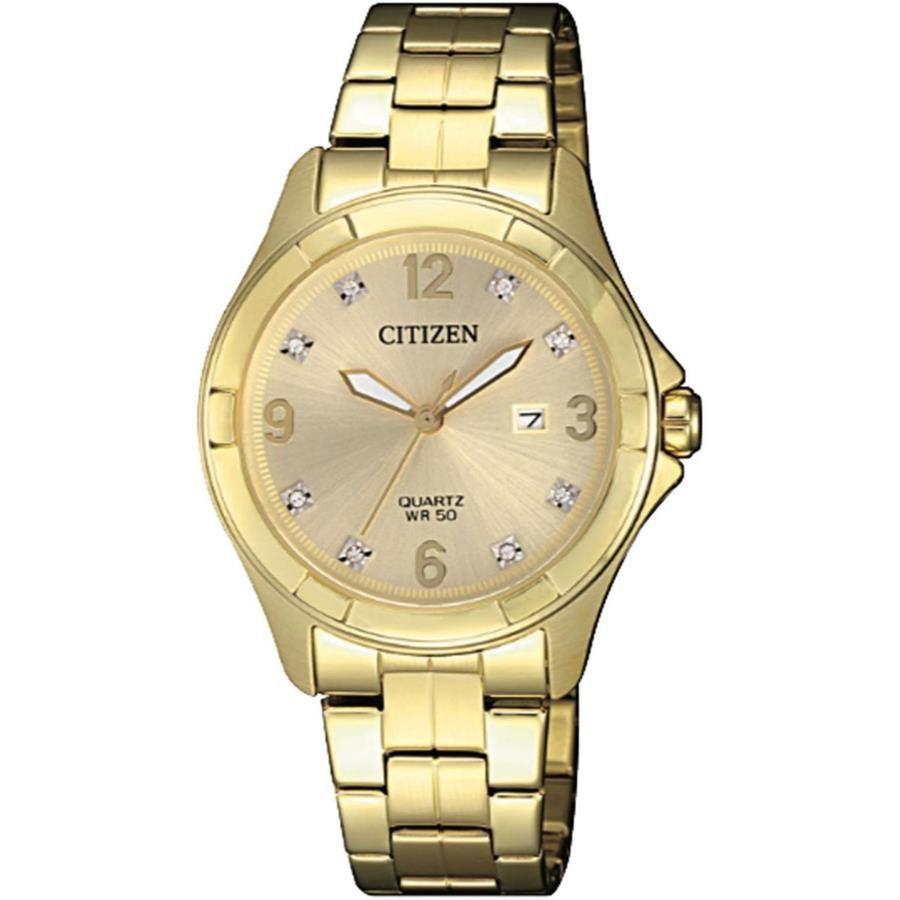 188622fc8d1 Relógios Web Shop Relógio Citizen Feminino Ref  Tz28502g Social Dourado