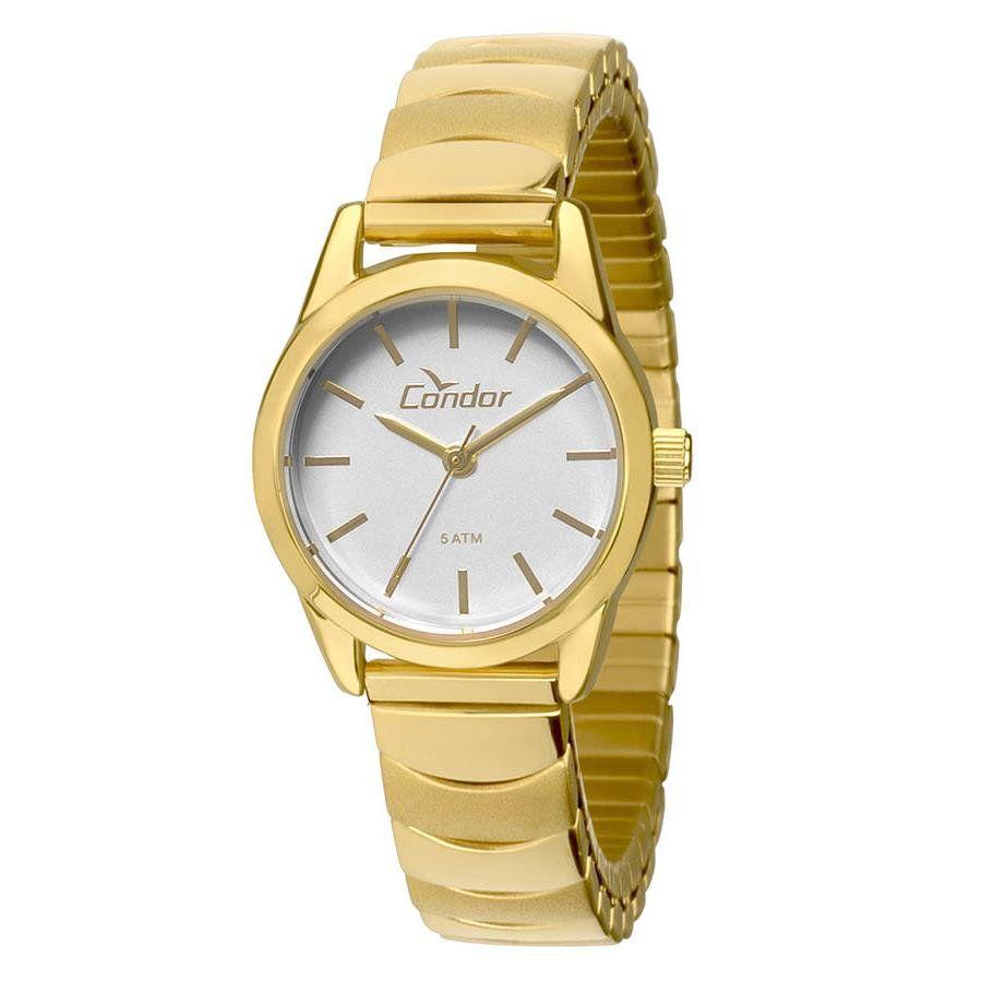 Relógios Web Shop Relógio Condor Feminino Ref  Co2035kmy 4k Mini Dourado 38e8594627