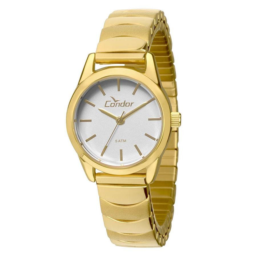 Relógios Web Shop Relógio Condor Feminino Ref  Co2035kmy 4k Mini Dourado 75b4d21ea1