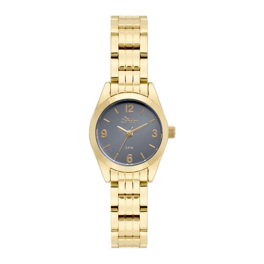 Relógios Web Shop Relógio Condor Feminino Ref  Co2036kua 4a Clássico Dourado c4780b83eb