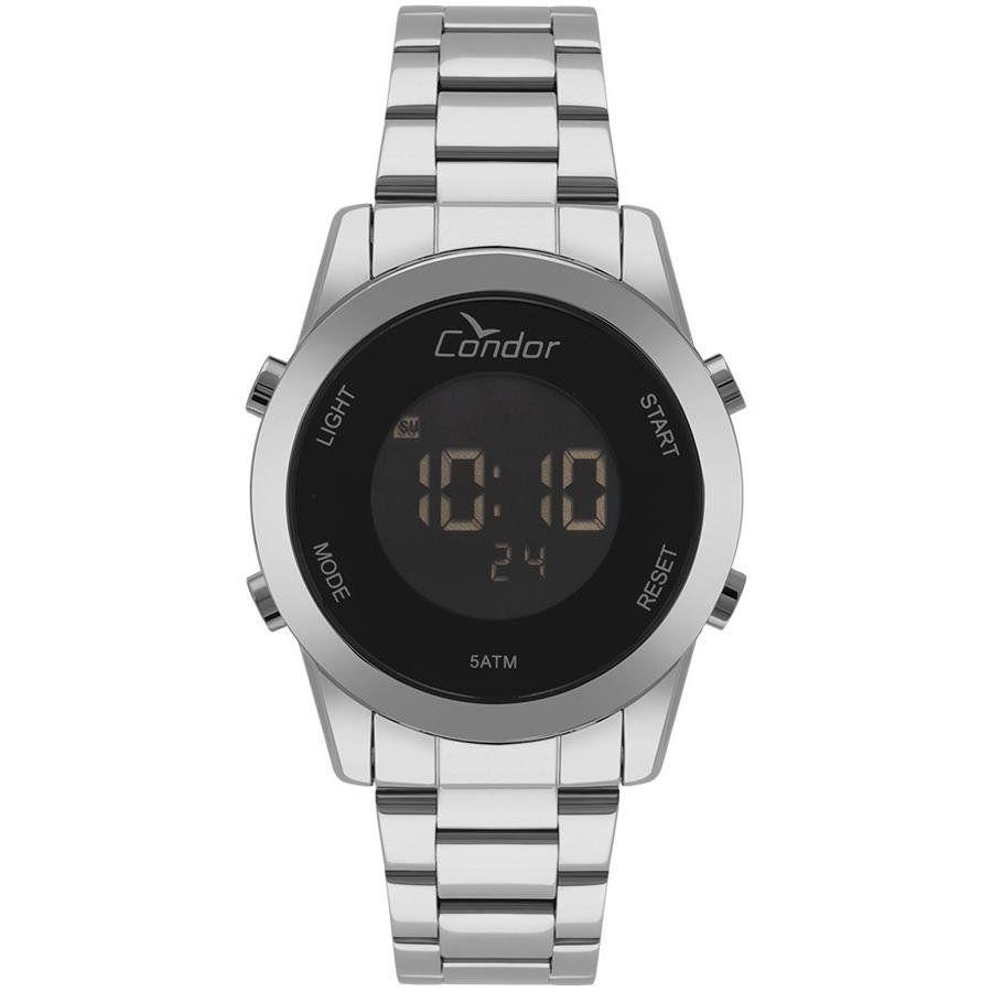 2b238b2725e Relógios Web Shop Relógio Condor Feminino Ref  Cobj3279ab 3p Digital Prata
