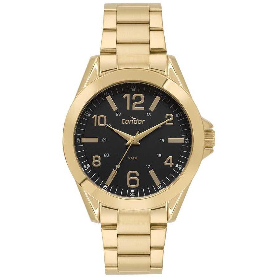 bb073c6bc2b Relógios Web Shop Relógio Condor Masculino Ref  Co2035kyo 4p Casual Dourado