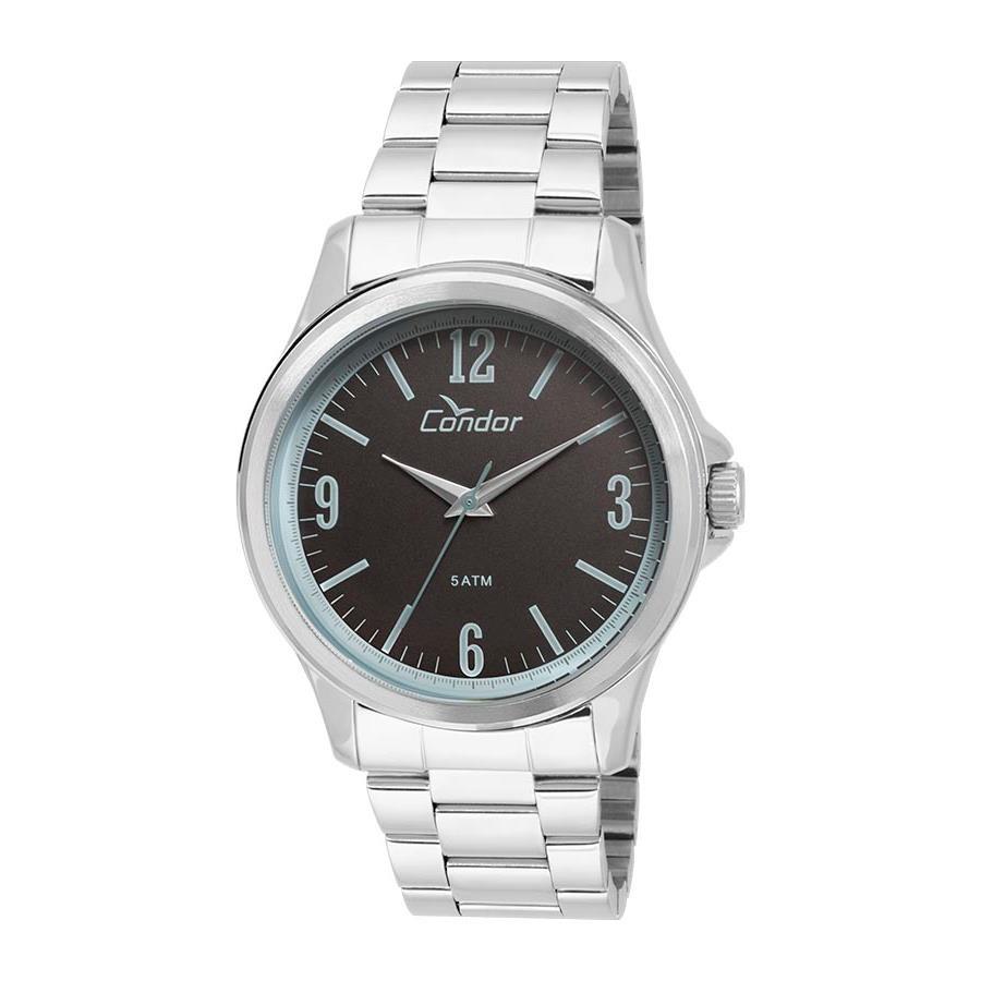 ddd1ffa15f Relógios Web Shop Relógio Condor Masculino Ref  Co2039af 3p Vintage Prateado
