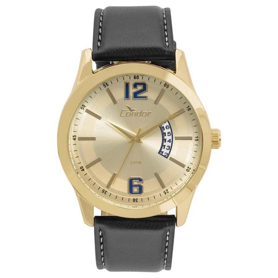 025dea0b707 Relógios Web Shop Relógio Condor Masculino Ref  Co2115ksx 2d Casual Dourado