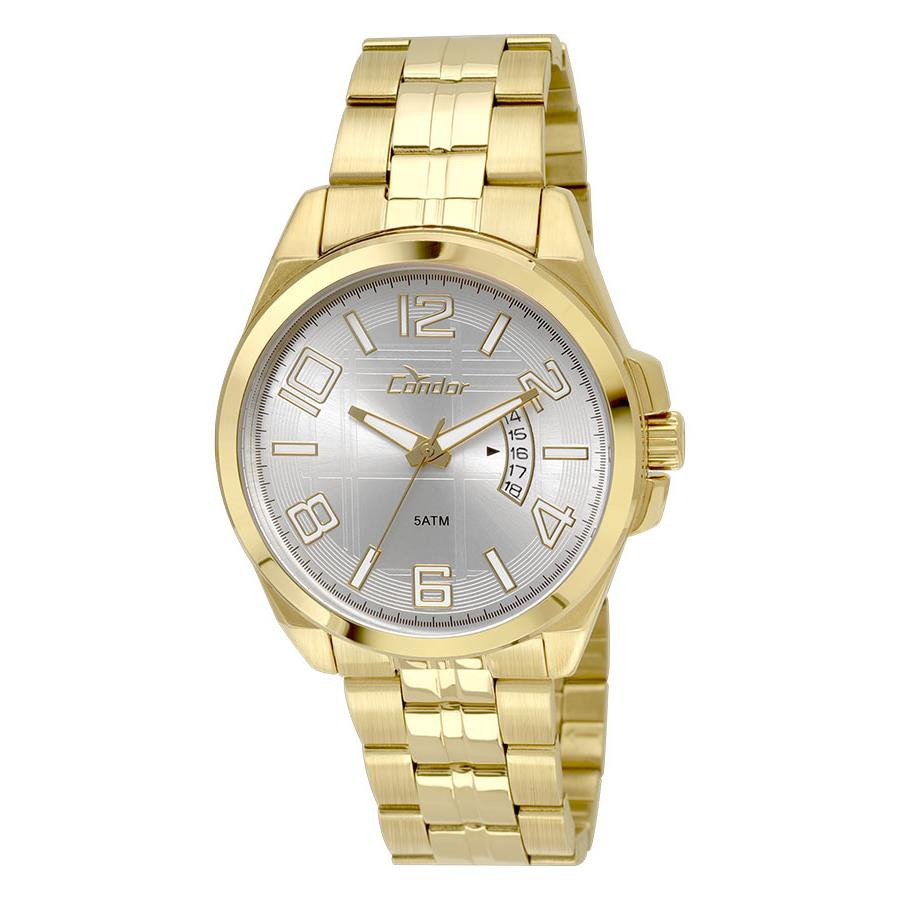 7af1a4ab094 Relógio Condor Masculino Ref  Co2115xn 4k Casual Dourado - Relógios Web Shop