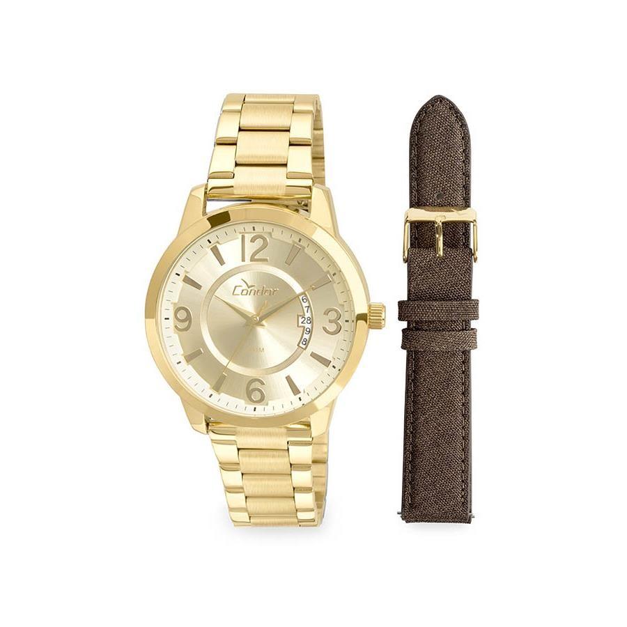 2e01059fab0 Relógio Condor Masculino Ref  Co2115xw k4d Dourado Troca Pulseira - Relógios  Web Shop ...