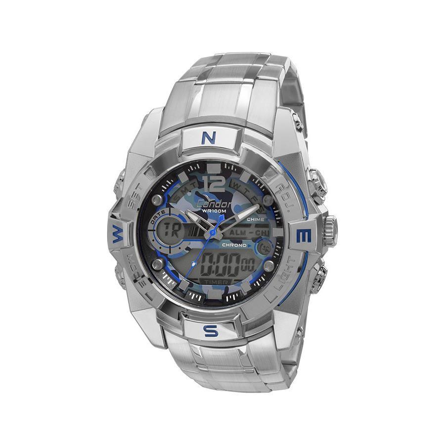 1e0c87819f0 Relógios Web Shop Relogio Condor Masculino Ref  Coad1119a 3a Anadigi  Camuflagem