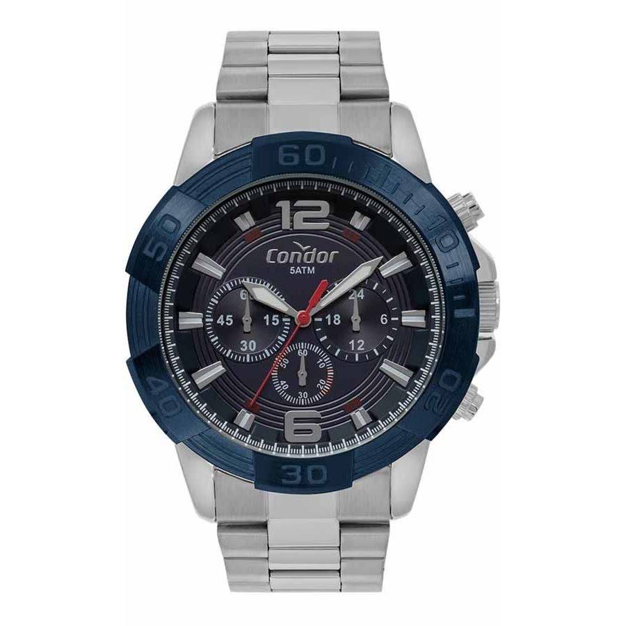 6944327d4b5 Relógios Web Shop Relogio Condor Masculino Ref  Covd54ba 3a Cronógrafo Prata