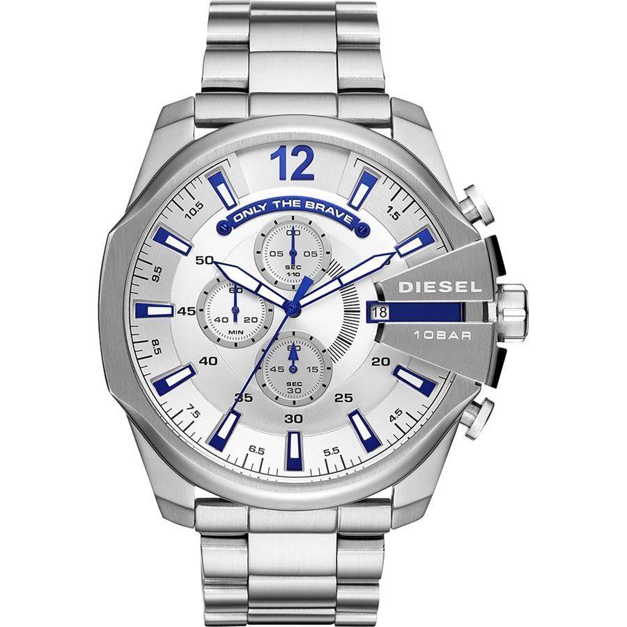 0b8b1321174 Relógio Diesel Masculino Ref  Dz4477 1kn Big Case Prateado - Relógios Web  Shop ...