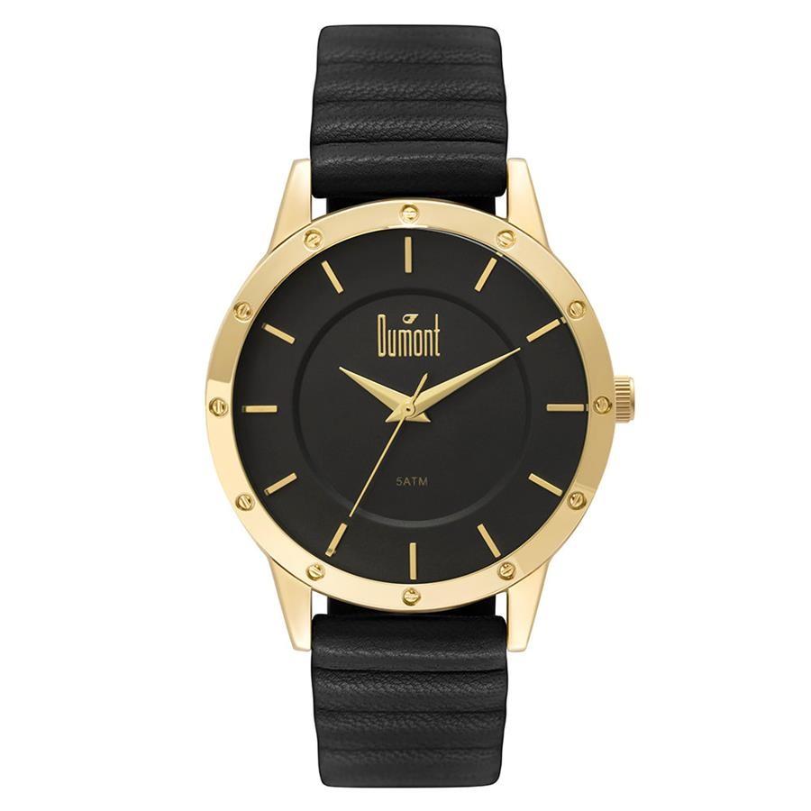f4045915a43 Relógios Web Shop Relógio Dumont Feminino Ref  Du2036mfj 2d Casual Dourado