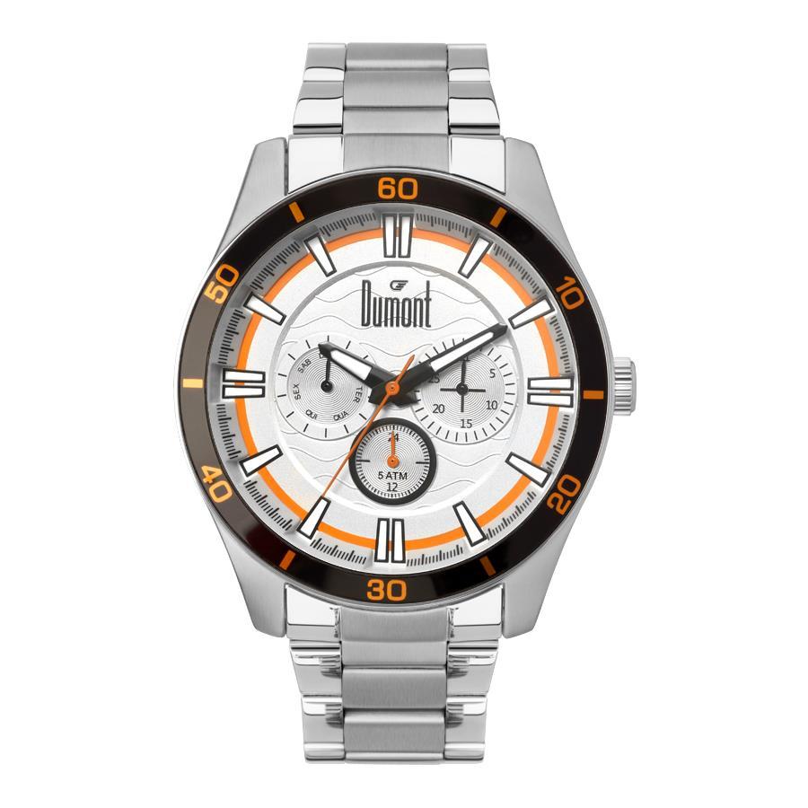 fac20ecebe627 Relógios Web Shop Relógio Dumont Masculino Ref  Du6p29acc 3k Esporte  Multifunção