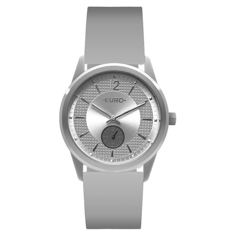5328560794d Relógio Euro Feminino Ref  Eu1l45aa 8k Fashion Prata - Relógios Web Shop ...