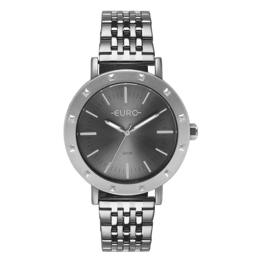 484d9bfdf22 Relógios Web Shop Relógio Euro Feminino Ref  Eu2035ypg 3k Spike Fever  Casual Prata