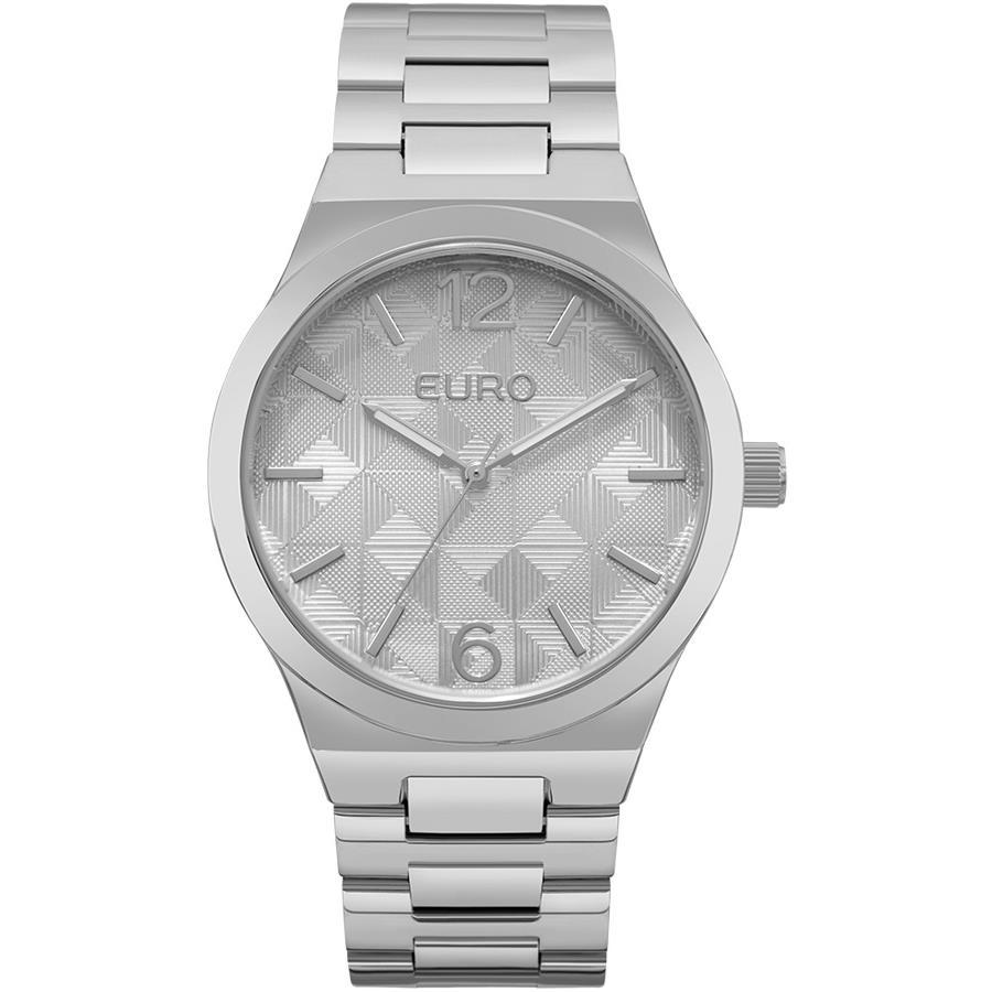 95379fa1423 Relógios Web Shop Relógio Euro Feminino Ref  Eu2036yll 3k Fashion Prateado