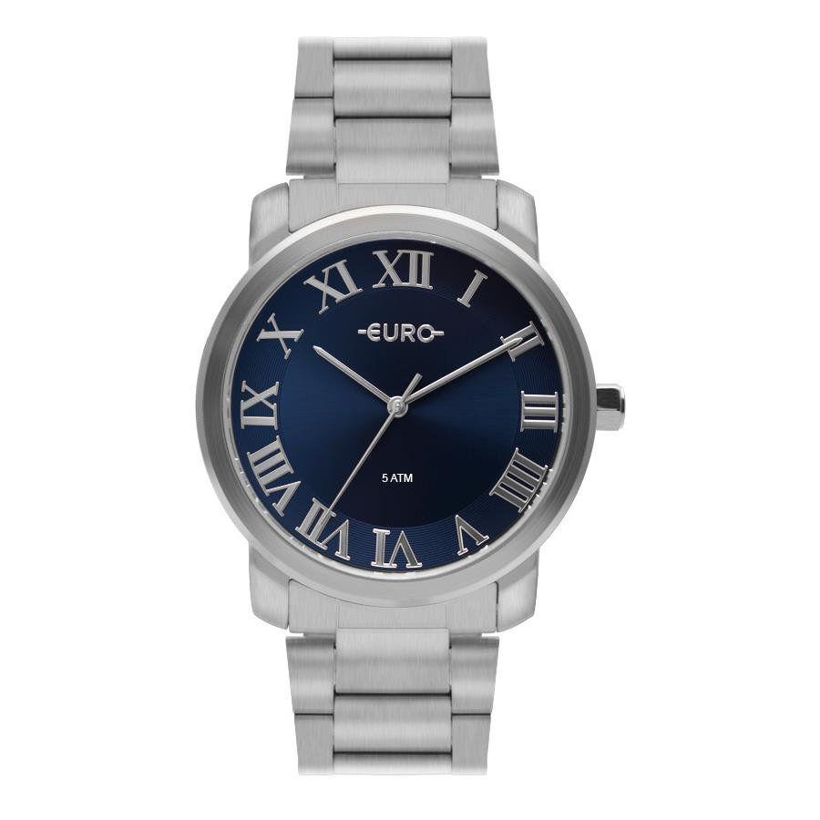 2d8fabf8485 Relógios Web Shop Relógio Euro Feminino Ref  Eu2036ynn 3a Prata Fosco
