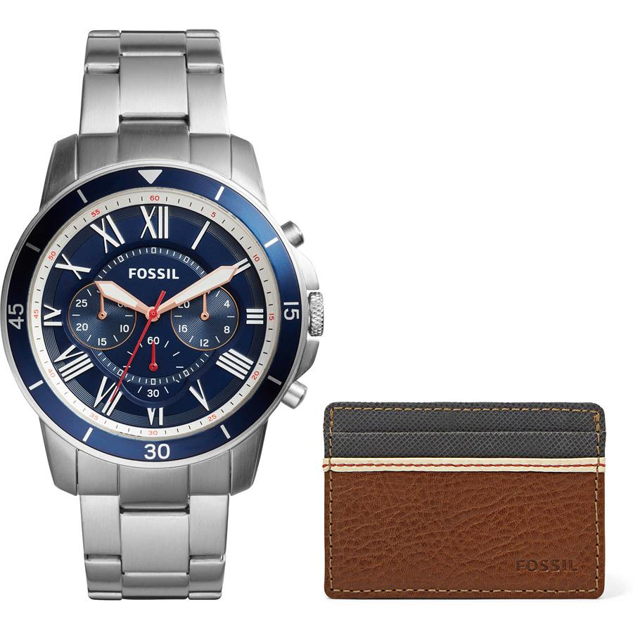 4985ba6a15813 Relógio Fossil Masculino Ref  Fs5336set 0an + Porta Documentos - Relógios  Web Shop ...