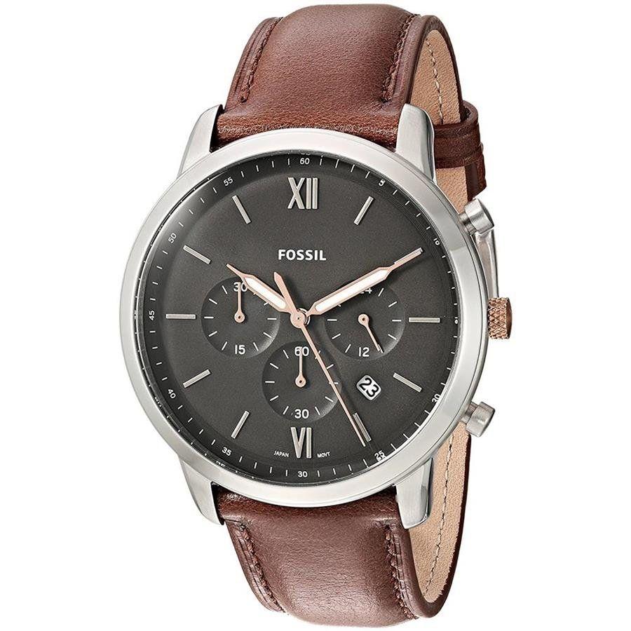 ... Relógio Fossil Masculino Ref  Fs5408 0mn Cronografo Prateado - Relógios  Web Shop 229636c979