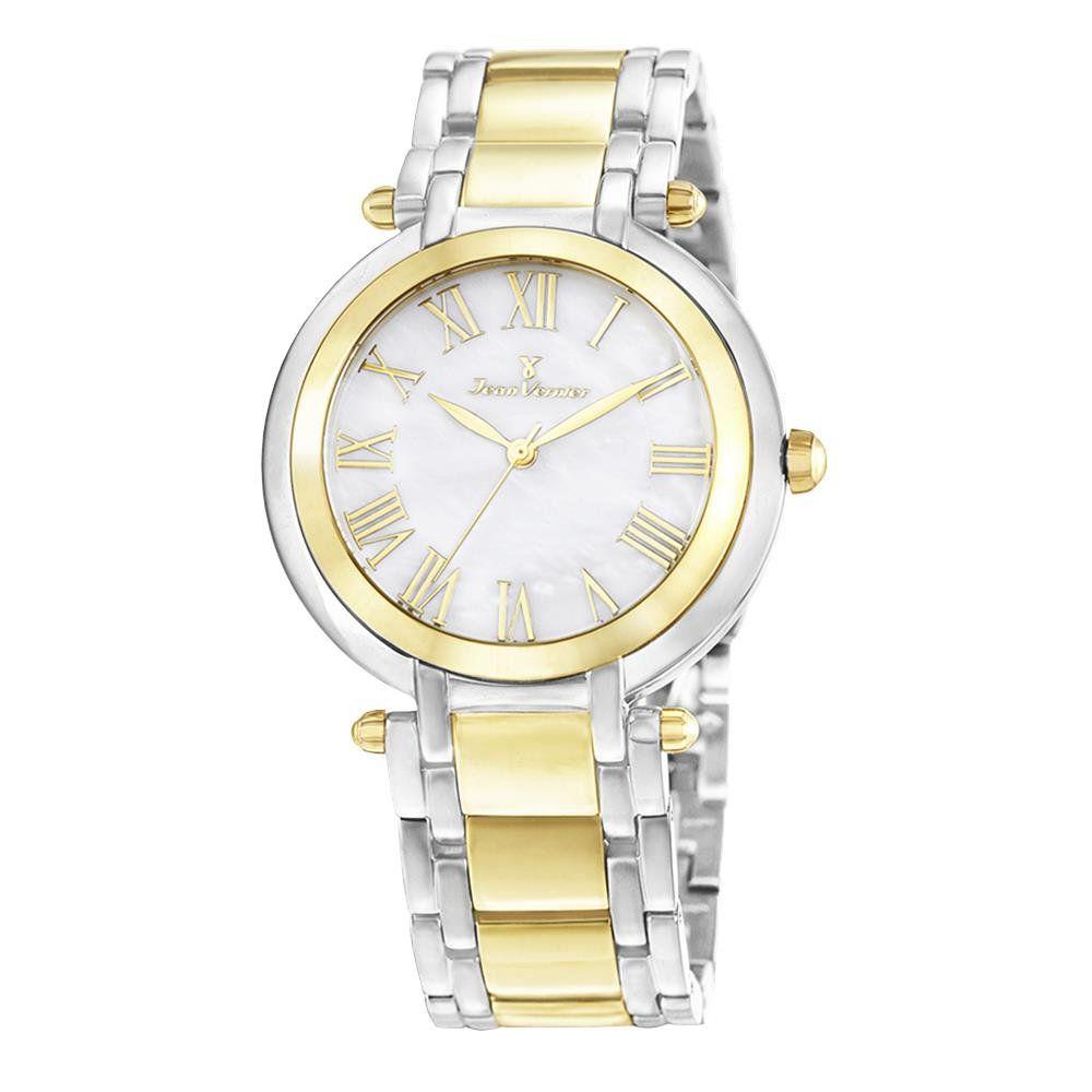 f6813e97743 Relógios Web Shop Relógio Jean Vernier Feminino Ref  Jv1002 Fashion Bicolor
