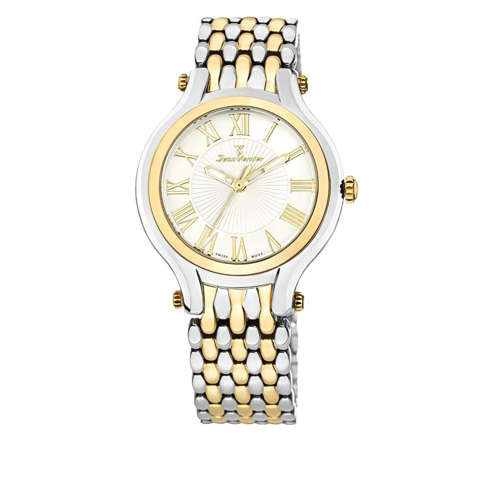 e186d2493a1 Relógio Jean Vernier Feminino Ref  Jv1021 Social Bicolor - Relógios Web  Shop ...