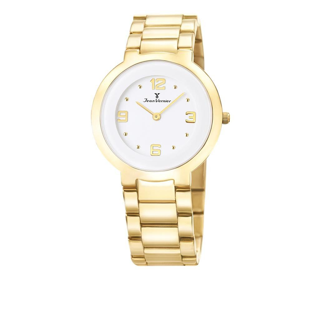 a11f543f98b Relógio Jean Vernier Feminino Ref  Jv1121 Social Slim Dourado - Relógios  Web Shop ...