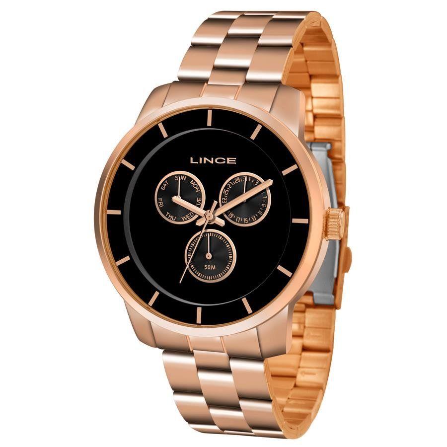 daa5658240f Relógios Web Shop Relógio Lince Feminino Ref  Lmr4478l P1rx Multifunção Rosé