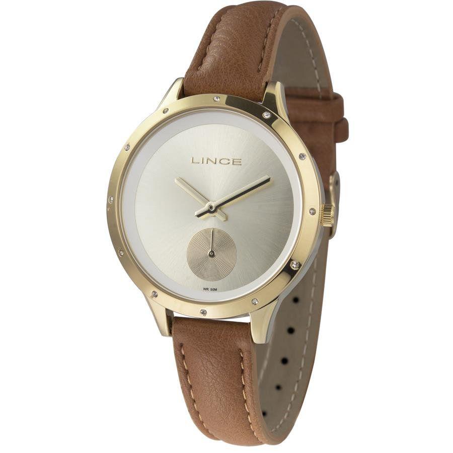 e4947d8dbc9 Relógios Web Shop Relógio Lince Feminino Ref  Lrc4529l C1mx Fashion Dourado
