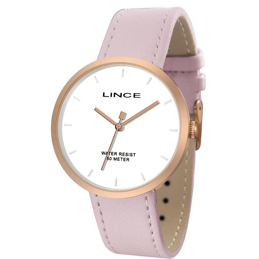 91e9cf57bc2 Relógios Web Shop Relógio Lince Feminino Ref  Lrch060l B1rx Fashion Rosé