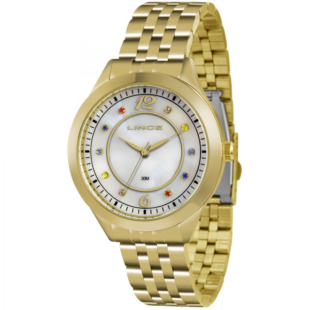 9ebb3a54ba6 Relógio Lince Feminino Ref  Lrg4324l B2kx