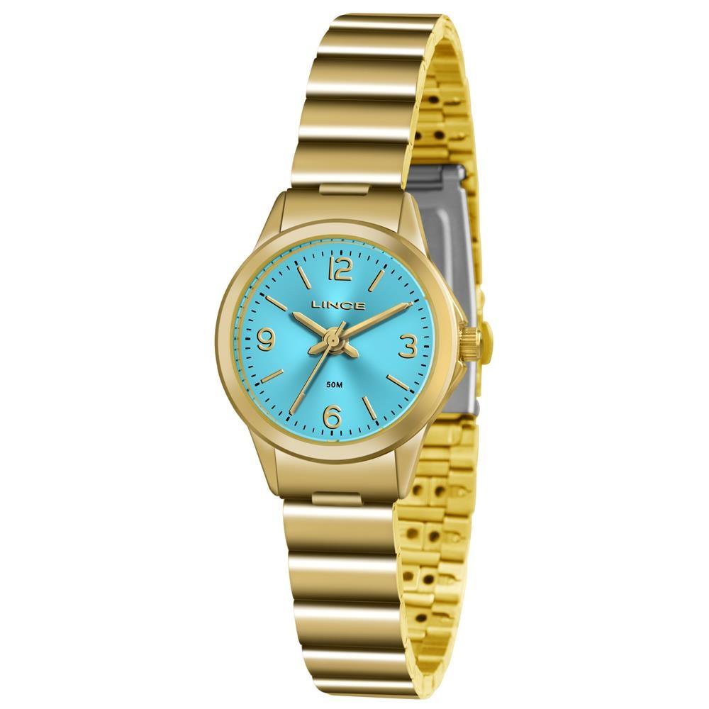 af4461a4bea Relógio Lince Feminino Ref  Lrg4434l A2kx Clássico Dourado - Relógios Web  Shop