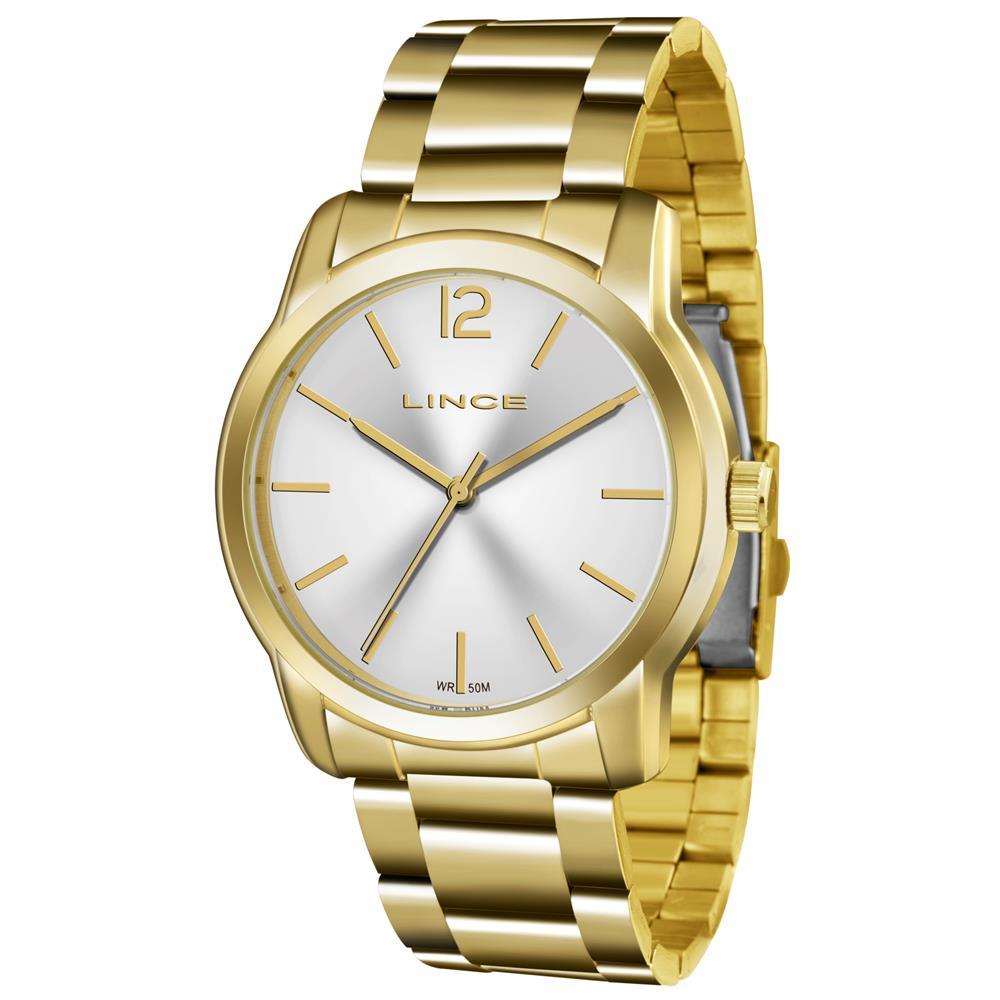 6e3ea1a9116 Relógios Web Shop Relógio Lince Feminino Ref  Lrg4447l S2kx Casual Dourado