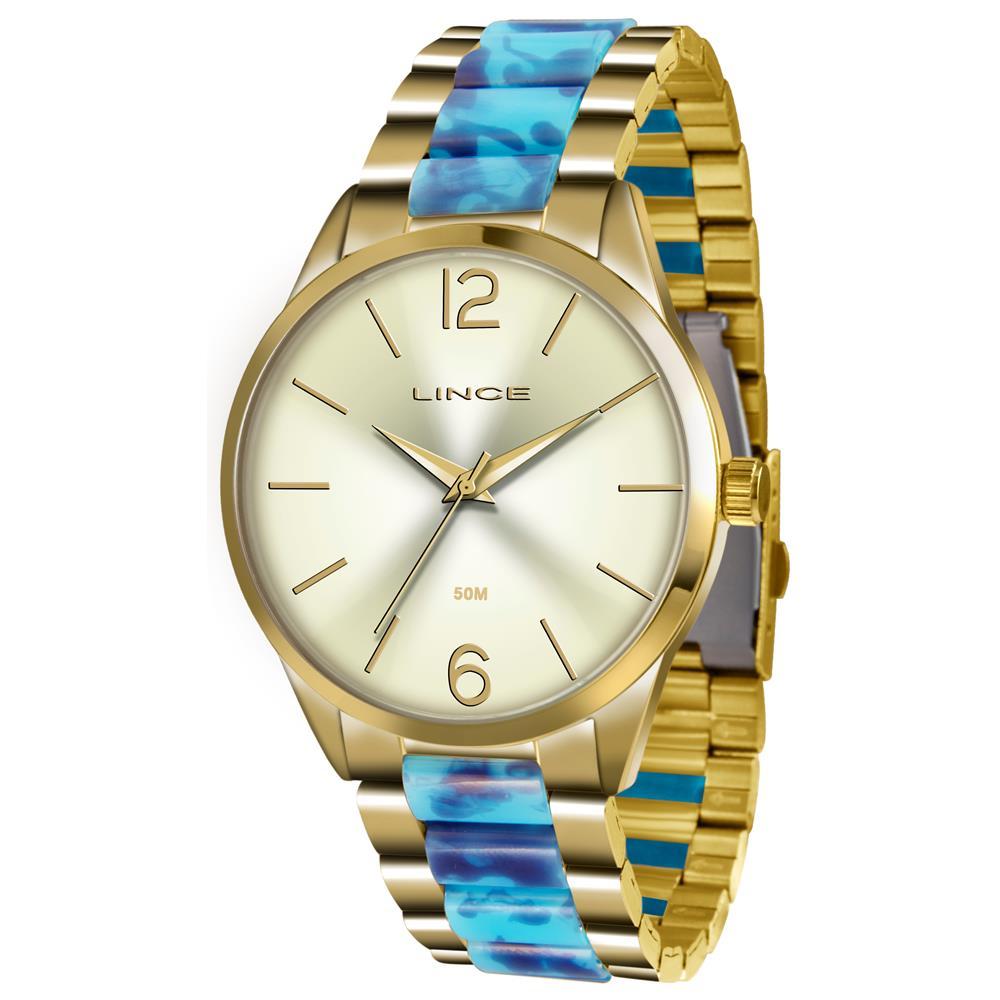 49c06b472b2 Relógio Lince Feminino Ref  Lrt4443l C2ka Fashion Dourado - Relógios Web  Shop