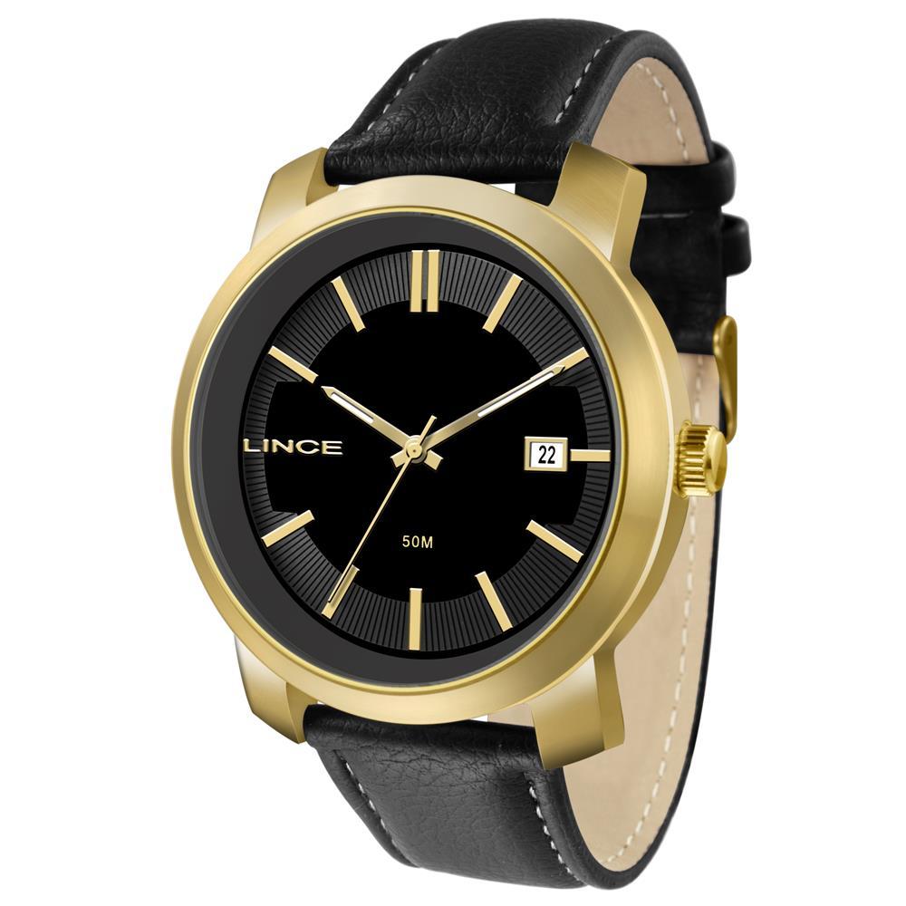 02bf2ffb7c7 Relógios Web Shop Relógio Lince Masculino Ref  Mrc4464s P1px Casual Dourado