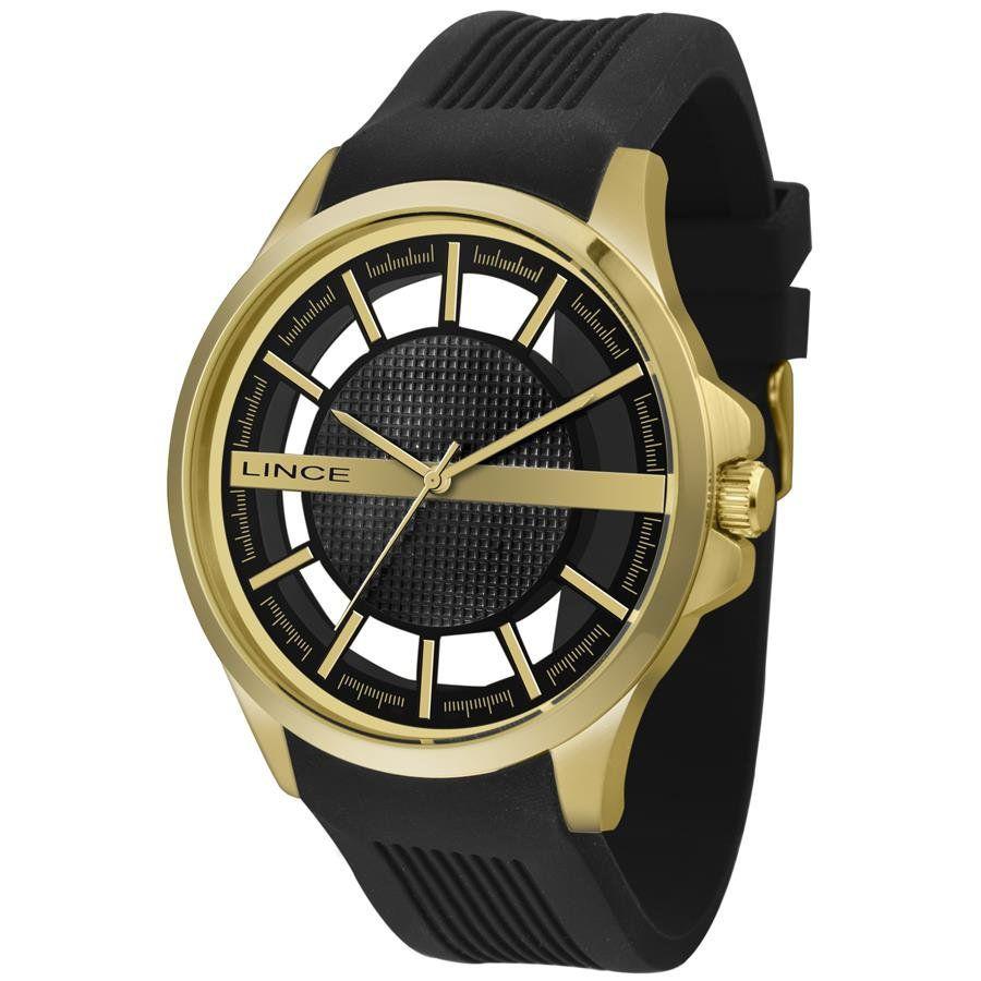 2cac2d37842 Relógios Web Shop Relógio Lince Masculino Ref  Mrp4579s P1px Casual Dourado