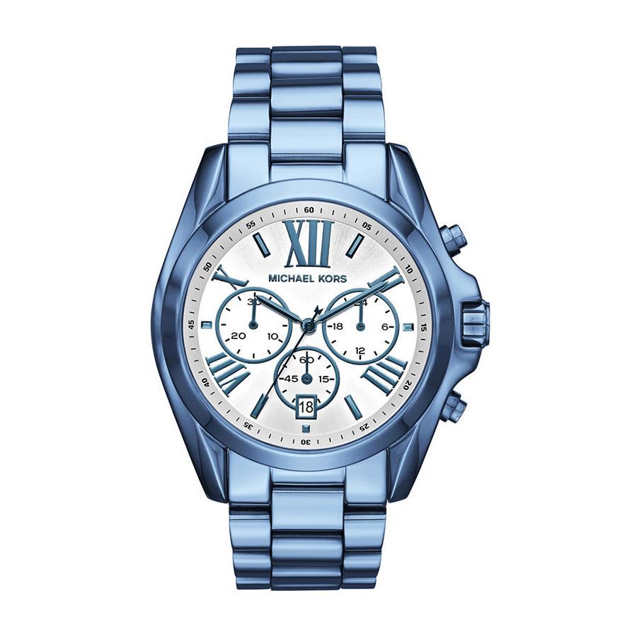 79e3948747b Relógio Michael Kors Feminino Ref  Mk6488 4kn Azul - Relógios Web Shop ...