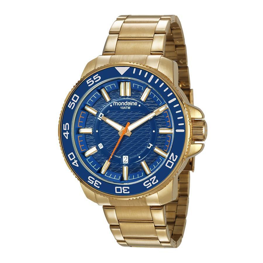 4c7f50b51d0 Relogio Mondaine Masculino Ref  53644gpmvds1 Casual Dourado - Relógios Web  Shop ...