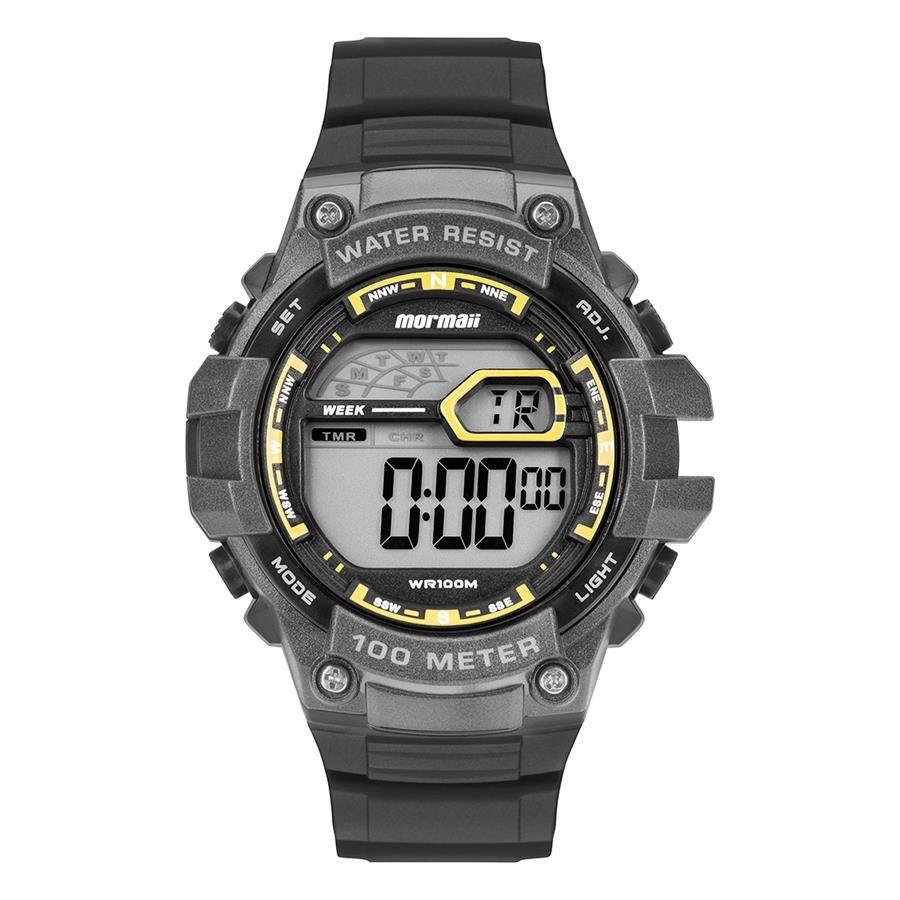 5efa5c247cf Relógios Web Shop Relógio Mormaii Masculino Ref  Mo3480ab 8y Digital Preto