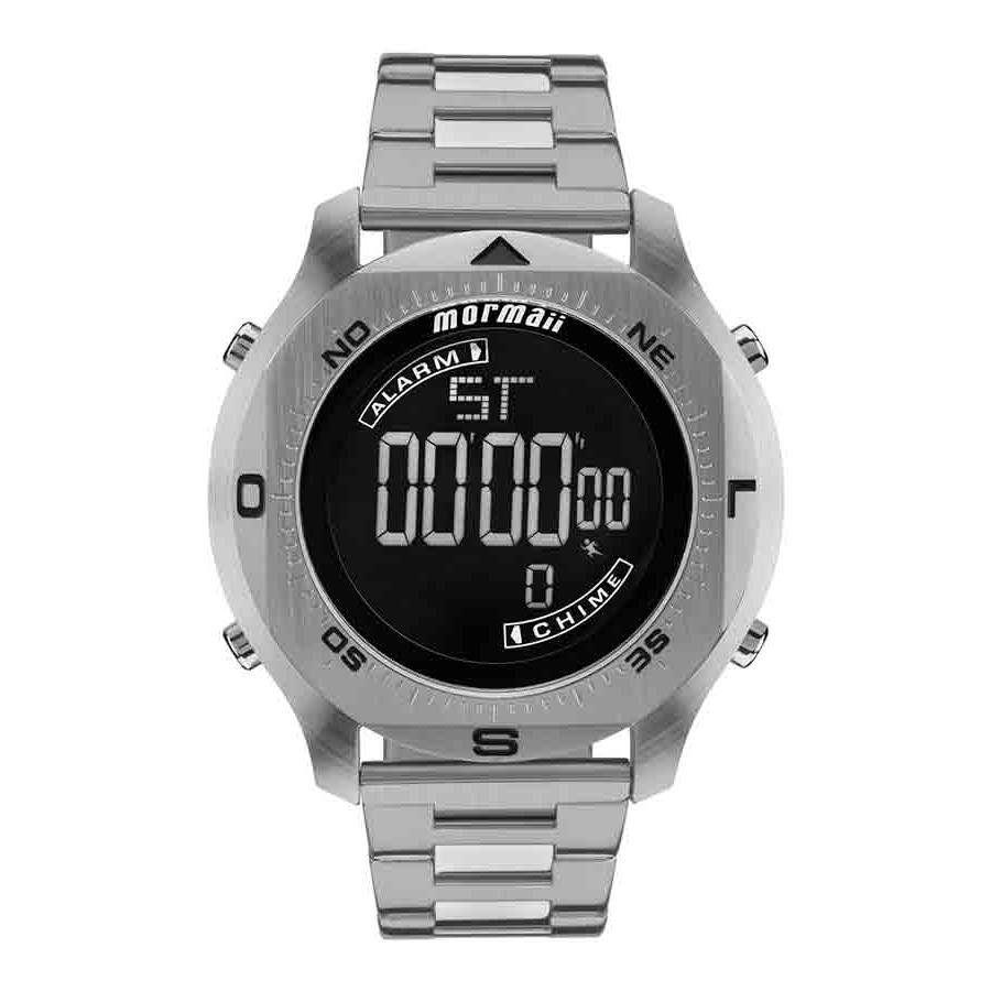 56eb2bf8ac235 Relógios Web Shop Relógio Mormaii Masculino Ref  Mo11273c 1p Digital  Prateado