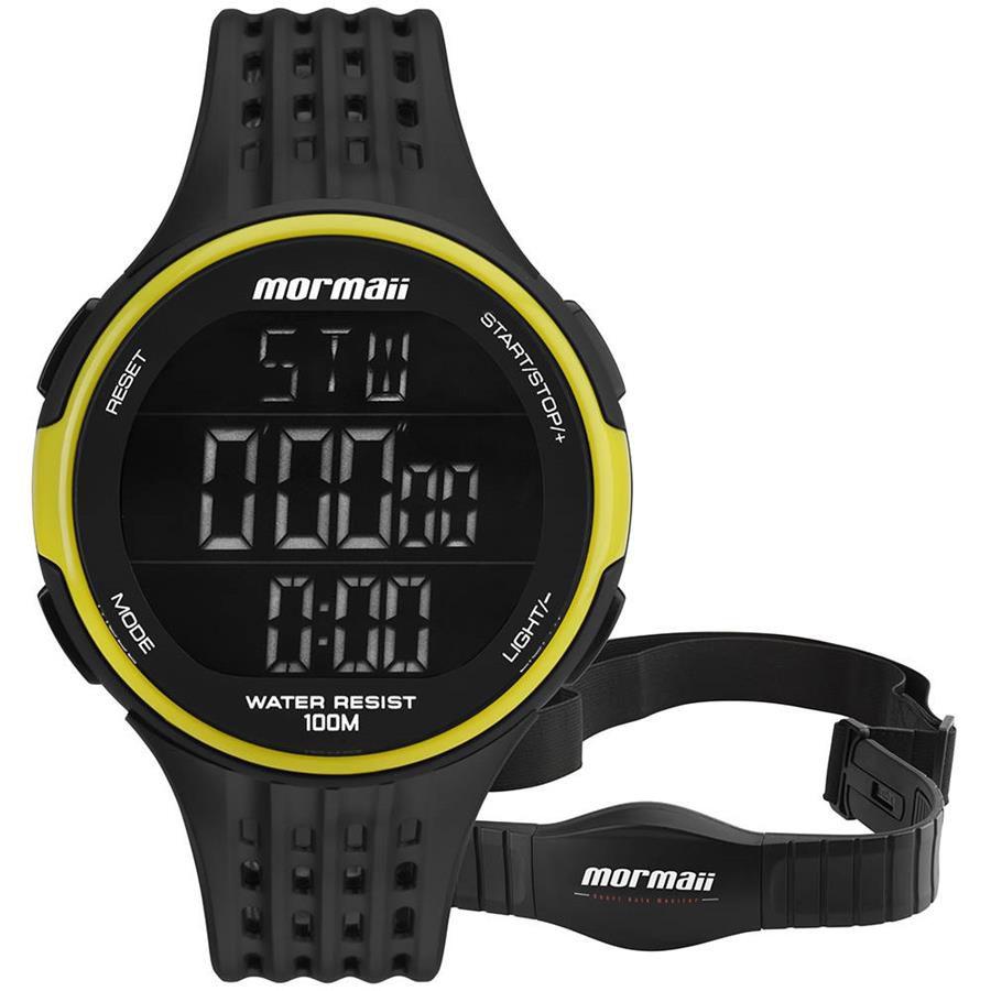 b31cec0aafaf7 Relógios Web Shop Relógio Mormaii Masculino Ref  Mo11559aa 8v Monitor  Cardíaco