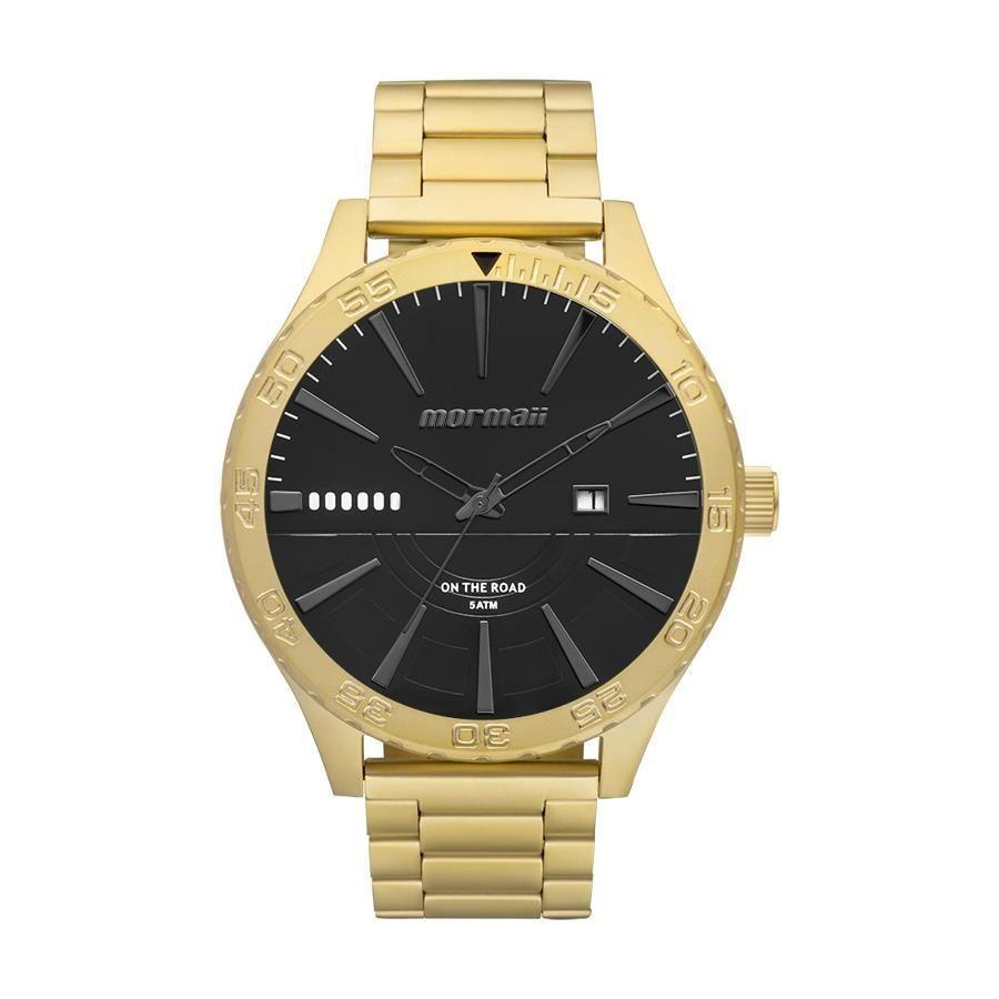 Relógio Mormaii Masculino Ref  Mo2115ay 4p Casual Dourado - Relógios Web  Shop e909048447