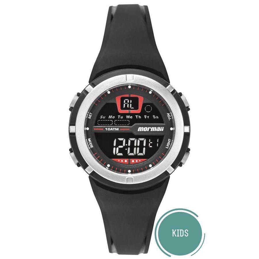 d2e1f4b86df40 Relógio Mormaii Masculino Ref  Mo2600ab 8r Digital Infantil - Relógios Web  Shop