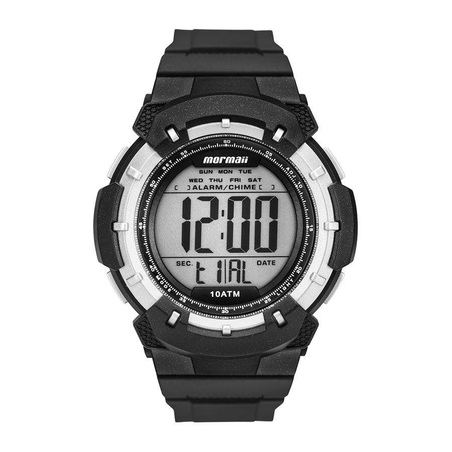 5eb3a4b70911b Relógios Web Shop Relógio Mormaii Masculino Ref  Mo3571 8p Acqua Preto