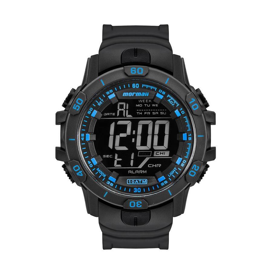60315e2808840 Relógio Mormaii Masculino Ref  Mo3690ab 8a Digital Preto - Relógios Web  Shop ...