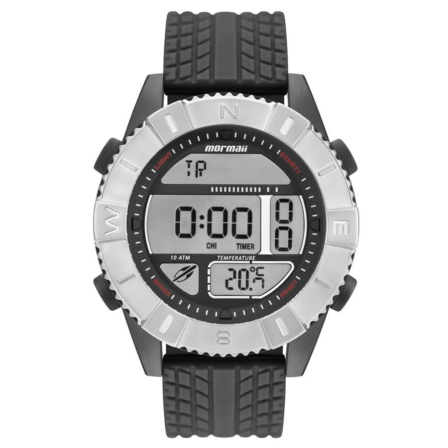 7b631e136ca5d Relógio Mormaii Masculino Ref  Mo5334ac 8p Digital Termômetro - Relógios  Web Shop ...