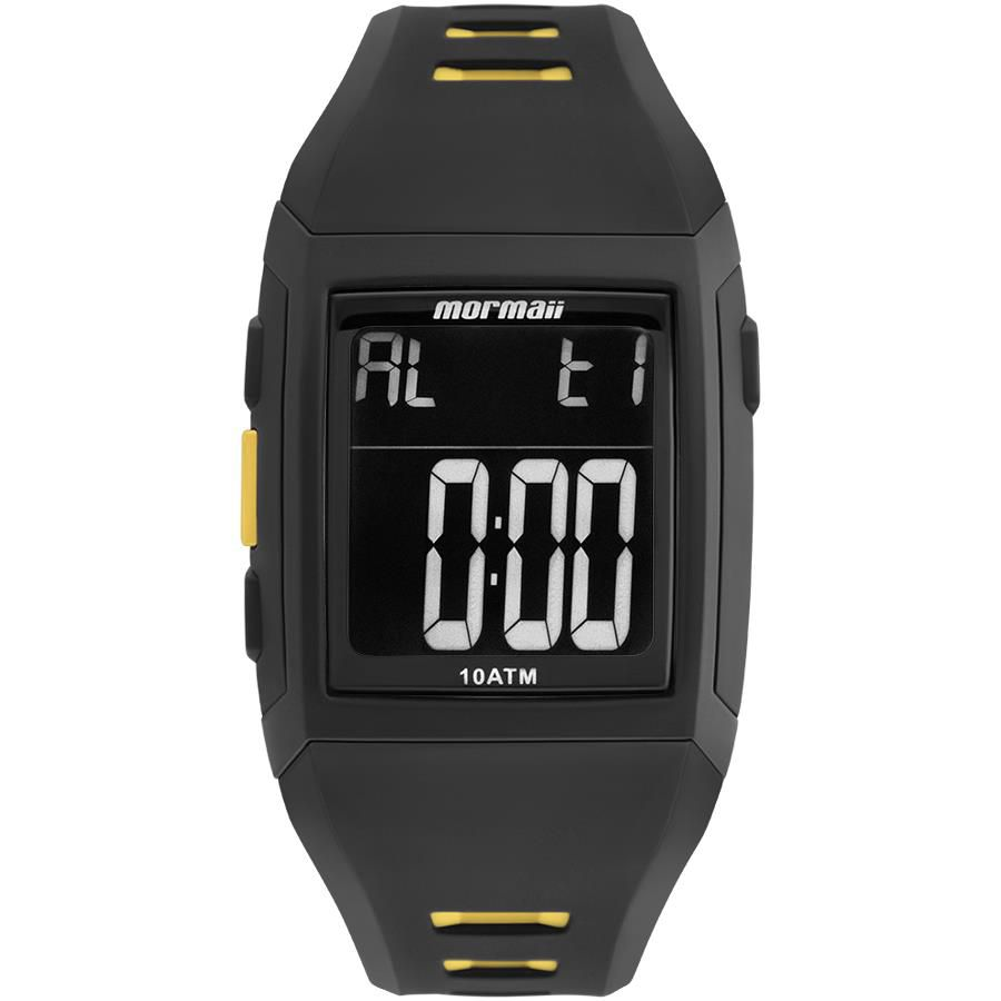 6353f0d7760dc Relógio Mormaii Masculino Ref  Mo967aa 8p Digital Retangular - Relógios Web  Shop