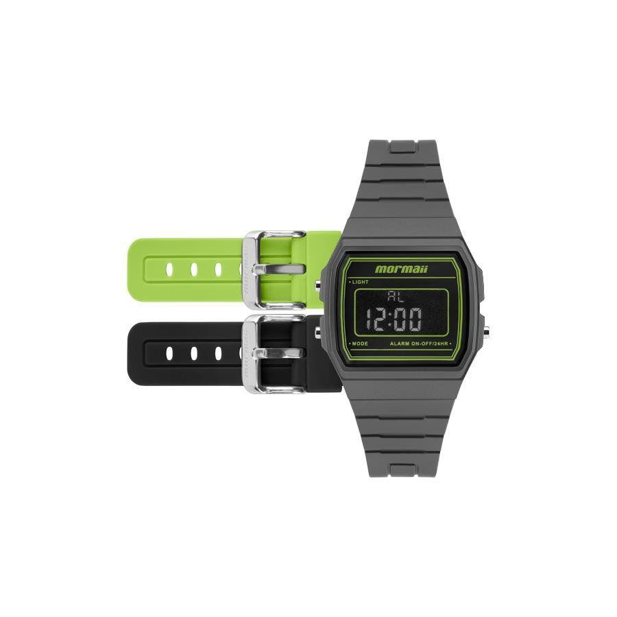 e21e49ea4e9 Relógios Web Shop Relógio Mormaii Masculino Ref  Mojh02ap 8v Retrô Troca  Pulseira