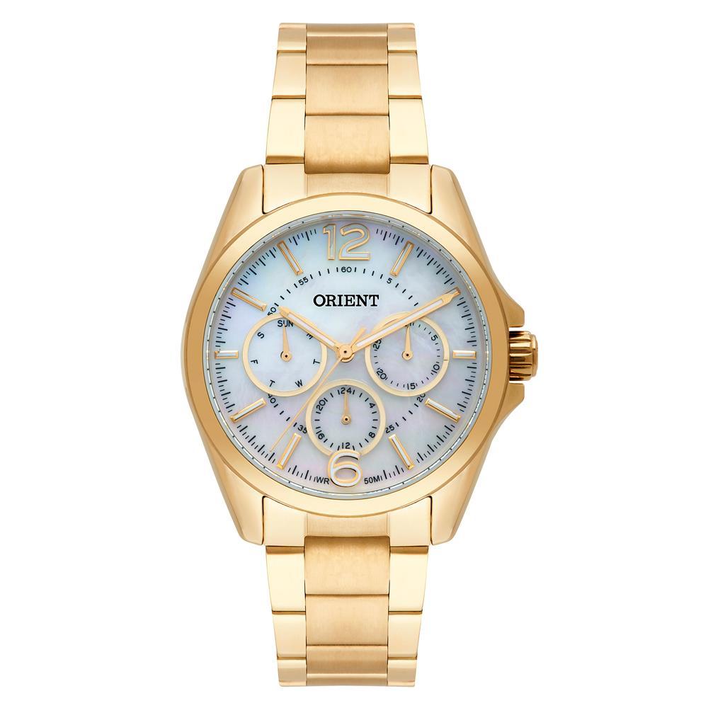 4d99ca8c947 Relógios Web Shop Relógio Orient Feminino Ref  Fgssm054 B2kx Multifunção  Dourado