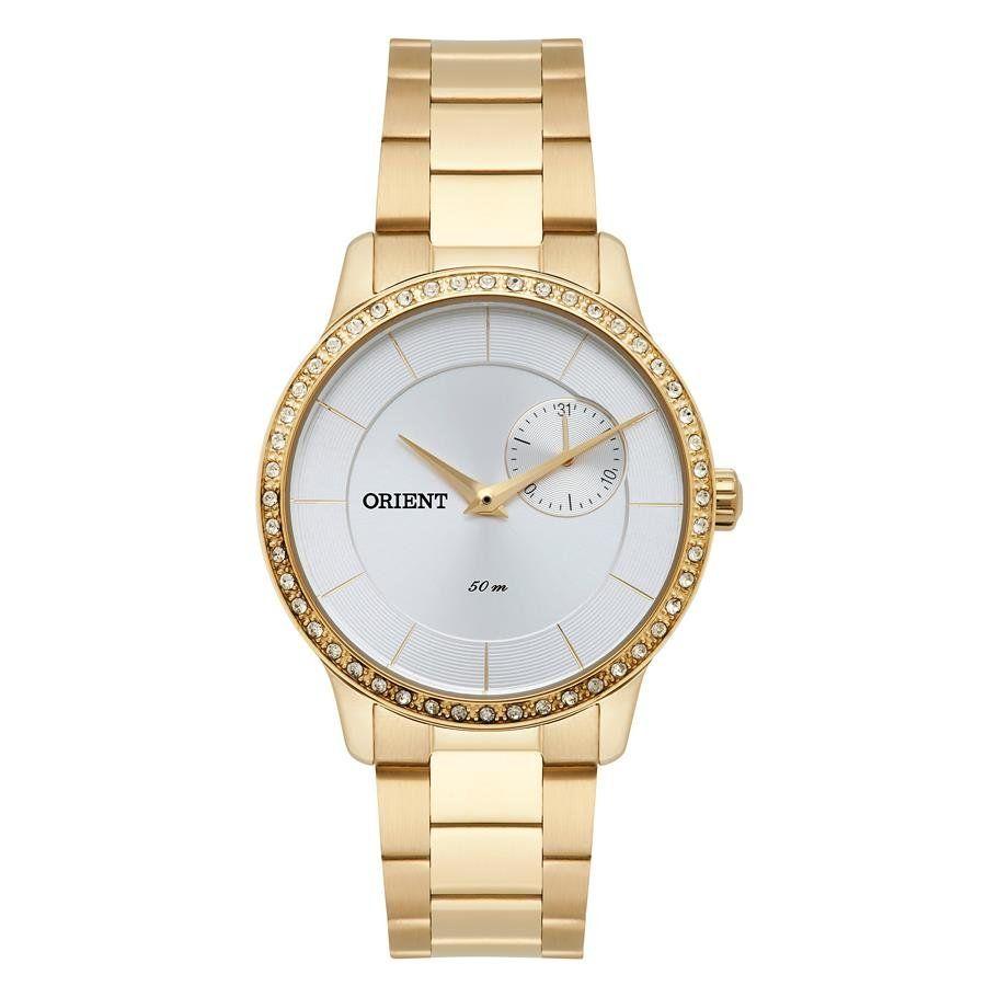 67993b71d48 Relógios Web Shop Relógio Orient Feminino Ref  Fgssm058 S1kx Multifunção  Dourado