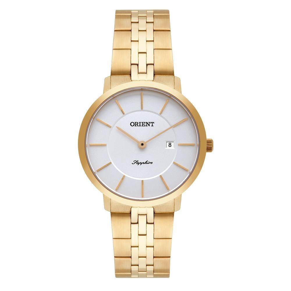 87b0cc34fa7 Relógios Web Shop Relógio Orient Feminino Ref  Fgsss005 S1kx Slim Dourado