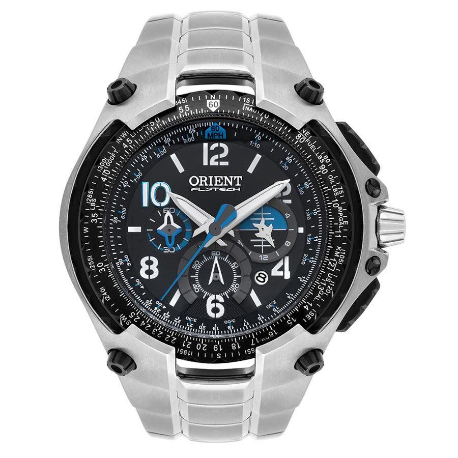 6eb8b66b732 Relógios Web Shop Relógio Orient Masculino Ref  Mbttc016 P2sx Flytech Titânio  Cronógrafo