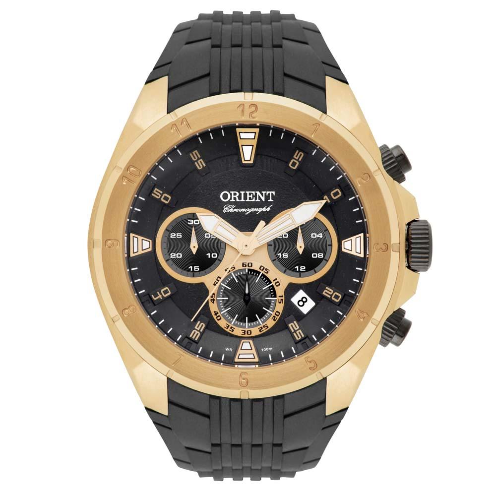 609bfdd40c1 Relógios Web Shop Relógio Orient Masculino Ref  Mgspc002 P1px Cronógrafo  Dourado